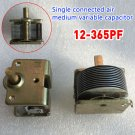 Single Joint Air Dielectric Variable Capacitor And Hats 12PF to 365pf 250MΩ DIY