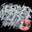 100pcs Plastic Squeeze 4ml Transfer Pipettes Dropper For Cupcake Ice Cream Kit