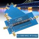 RF SWR Reflection Bridge 0.1-3000 MHZ Antenna Analyzer VHF VSWR Return Loss DIY