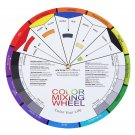 Portable Pocket Color Wheel Mixing Guide for Tattoo Makeup Hobby Painting Supply