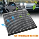 Full Fiber Cabin Air Filter Conditioning Replacement Fit For Toyota Camry Lexus