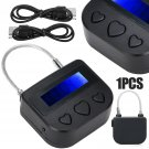 USB Time Lock Rechargeable Timer Switch Padlock For Ankle Handcuffs Mouth Gag