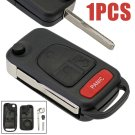 3+1 Buttons Folding Flip Remote Key Shell Fob for Mercedes Benz ML350 ML320 AMG