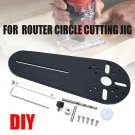 Circle Cutting Jig Electric Trimmer/Router Woodworking Milling Groove 20mm-670mm