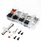 270 in One Set Screws Box Repair Tool Kit for 1/10 HSP RC Car DIY Accessories