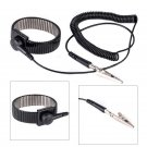 Anti-static ESD Adjustable Strap Antistatic Grounding Bracelet Black Wrist Band