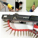 Automatic Screw Spike Chain Nail Tool Adapter For Electric Drill Woodworking Hot