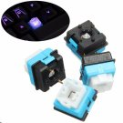 4pcs Plastic Original B3K-T13L Romer G Switches For Logitech G310 G810 G910 RGB