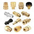 Pressure Washer Snow Foam Lance Spray Jet Tool Quick Connector Brass Adapter Kit