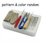 Needle Felting Starter Kit Wool Felt Tools Mat Scissors Needle Craft Accessories