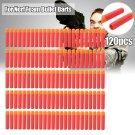 30/120pcs 9.5*2cm Refill Foam Bullet Darts For Nerf N-Strike Elite Mega Orange