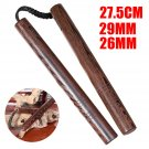 Chinese Kung Fu Solid Sandalwood Nunchuck Training Toy Martial Art Practice Gift