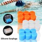 6pcs/Set Soft Silicone Earplugs Swim Flexible Ear Plugs for Swimming Sleeping