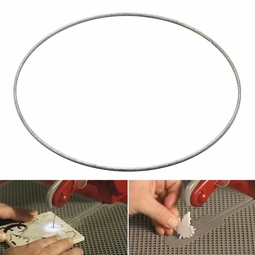 Stained Glass Replacement Diamond Coated Band Saw Blade For Taurus 3.0 Ring Tool