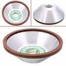 100mm Diamond Grinding Wheel Cup 180 Grit Cutter Grinder for Carbide Metal Tool