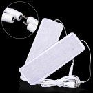 2pcs Set USB Electric Insole Heating Mat Pads Foot Knee Warmers Heat Film Heater