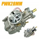 28mm Carburetor For PWK 2T/4T 75cc to 125cc Motorcycle Engine Scooter UTV ATV