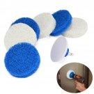 7 pcs/set Bathroom Cleaning Drill Accessory Nylon Scrub Pad For Rotoscrub Tool