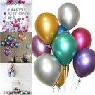 "50PCS 12"" METALLIC Wedding Pearl Latex Balloons  for Decoration/Birthday/Party"