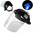 Safety Face Eye Protect Shield Clear Grinding Solder Mask Glasses Welding Helmet