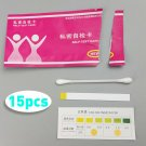 15Pc Urine Tract Vaginal Vaginosis / Bacterial / Thrush PH Test Strip Kit Female