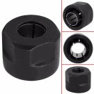 """13MM Black Metal 1/2"""" Collet Nut Plunge Router Parts for Makita 3612 22.5*27mm"""