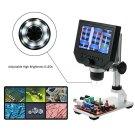 Digital HD 600X Microscope 4.3 Inch Display USB Endoscope Magnifying Camera