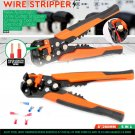 1 x Automatic Wire Cutter Stripper Pliers Electrical Cable Crimper Terminal Tool