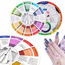 Color Wheel Tattoo Pigment Painting Mixing Guide for Amateur Color Selection