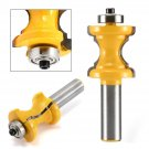 """Bullnose Bead Lock Miter Router Bit 1/2"""" Shank For Woodwork Edging Cutter Tool"""