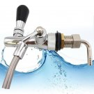 Draft Beer Faucet Flow Controller G5/8 Shank Chrome Planting Tap for Kegerator