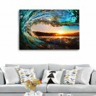24x35'' Unframed Sea Wave Landscape Art Canvas Painting Picture Print Wall Decor