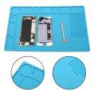 34x23cm Anti Static Solder Repair Tool Heat Insulation Silicone Pad Desk Mat