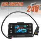 12V/24V LCD Monitor Switch For Car Truk Diesel Air Heater Controller Kit