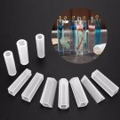 10pcs Silicone Molds Resin Necklace Jewelry Pendant Casting DIY Making Tool Set