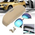 1x Car Sunglasses Holder Storage Case Box For BMW E39 E46 E53 E60 E61 E83 E87