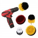 4Pcs Electric Scrub Cleaner Brush Drill Attachment Set Tile Grout Power Brush