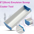 "8"" 20cm Press Aluminum Emulsion Scoop Coater Coating Tool For Silk Screen Print"