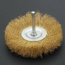 """4"""" 100mm Rotary Wire Wheel Clean Rust Paint Scale Dirt Power Drill Brush Tool"""