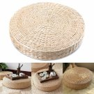 40cm Round Tatami Cushion Straw Weave Handmade Pillow Floor Yoga Seat Mat Home