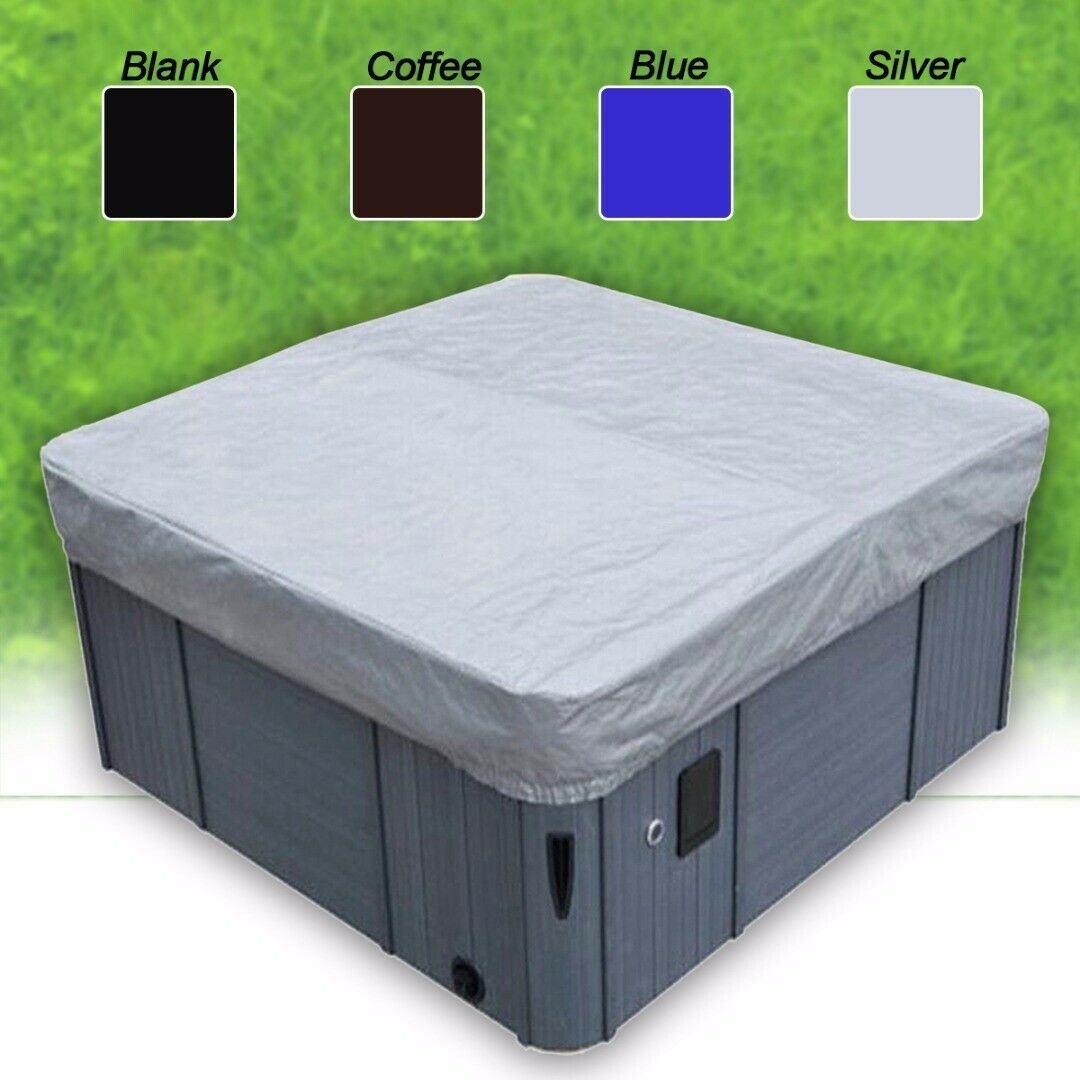 Hot Tub Spa Cover Cap Waterproof Protector Oxford Fabric 200x200x30cm Home Tool