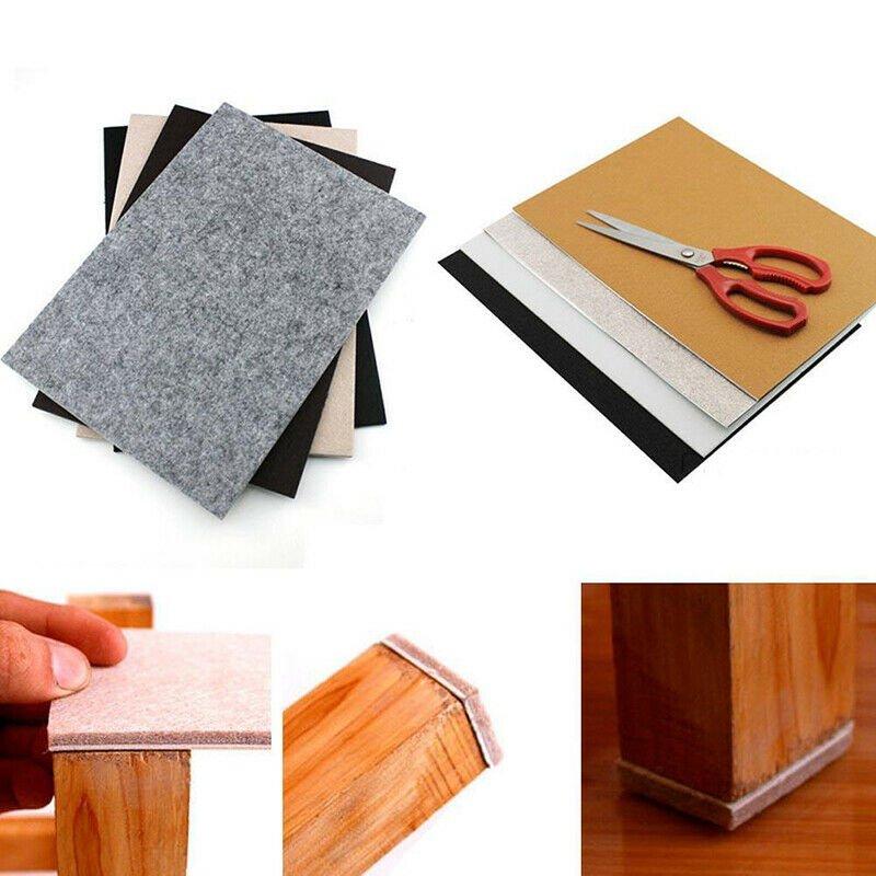 30cm*21cm Self Adhesive Square Felt Pads Furniture Floor Scratch Protector Home