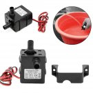 Mini DC12V 240L/H Ultra Quiet Brushless Motor Submersible Water Pump Home Tool