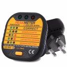PM6860ER Automatic Electric UK/US/EU Plug 110/230V Socket Outlet Tester New