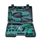 10pcs Garden Tools Set Gardening Shovel Spade Water Can for Planting Weeding