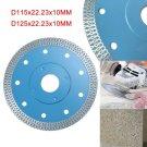 115/125mm Porcelain Tile Thin Diamond Dry Cutting Blade Grinder Wheel Disc 1.4mm