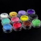 2 Set 12 Color Mica Pigment Powder Perfect To Soap Making Cosmetics Resin Makeup