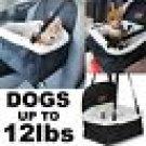 Dog Car Seat Bag Booster Belt Ride Safety Basket Storage Pocket Travel Pets