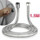 """59"""" inch Long Bathroom Stainless Steel Handheld Flexible Replacement Shower Hose"""