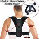Magnetic Posture Corrector Support Back Shoulder Brace Belt For Men Women Kids